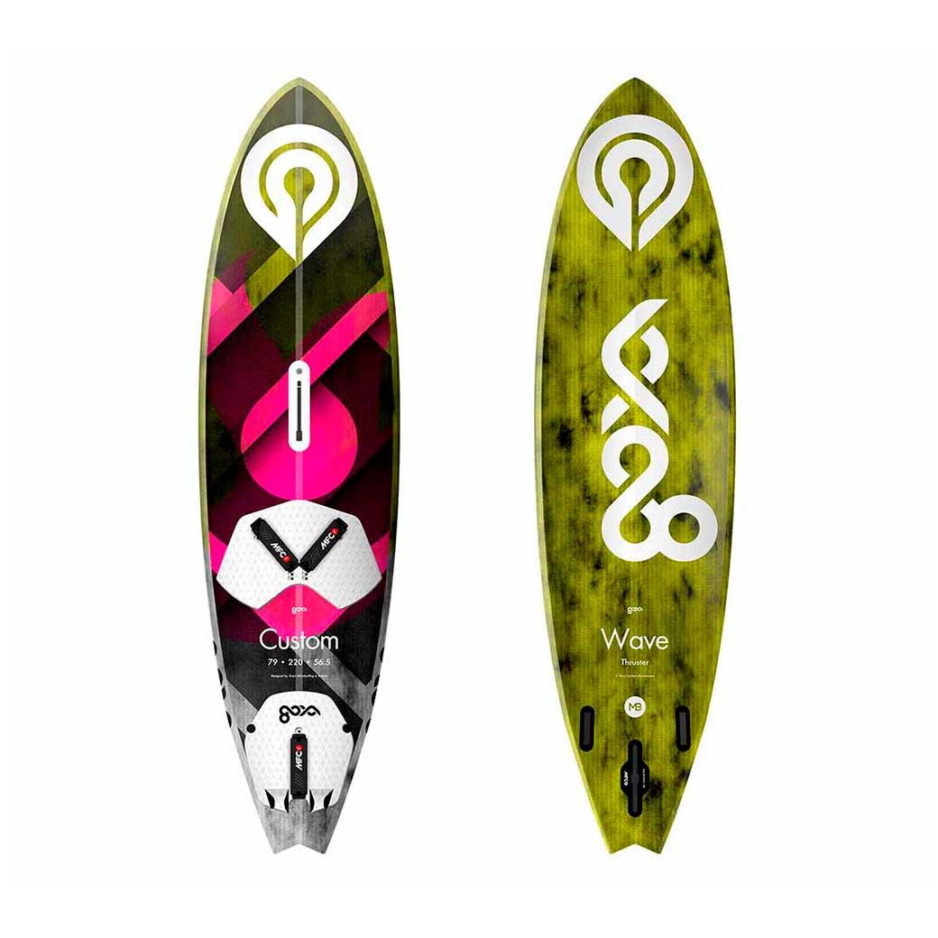 2018 GOYA CUSTOM PRO SURFWAVE THRUSTER