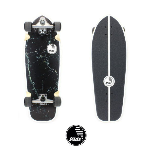 "Surfskate Joyful Marble 30"" by Slide Surfskates"