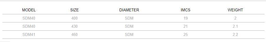 SEVERNE SDM WHITE