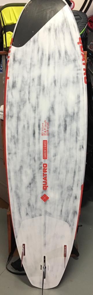 Tabla windsurf quatro super mini 85L 216,9 x 57,9