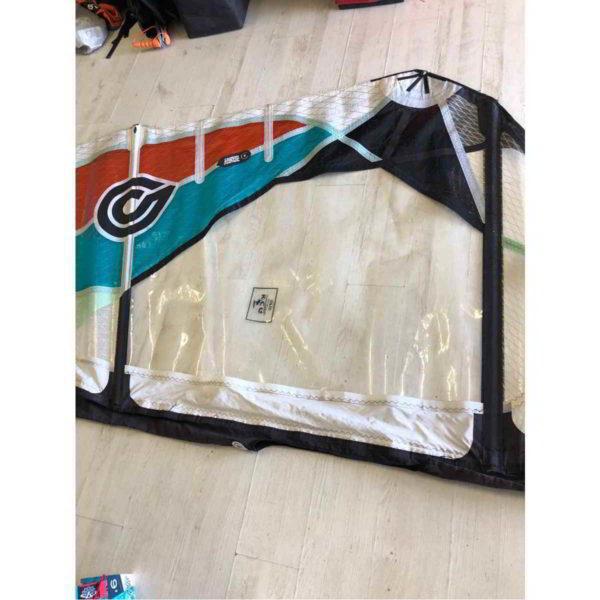 Vela de windsurf segunda mano Goya Fringe 4.5 vista parte medial