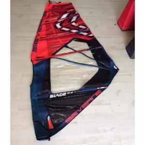 Vela de windsurf segunda mano Severne blade 3.5 vista entera