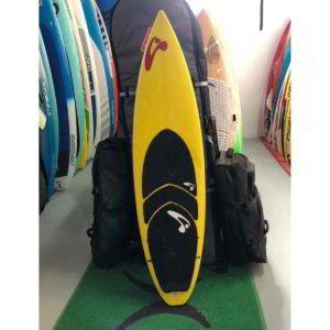 Tabla de surfkite Amundson Custom vista frontal entera