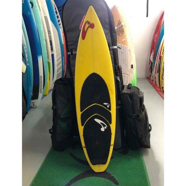 Tabla de surfkite Amundson Custom vista frontal entera