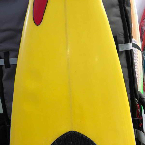 Tabla de surfkite Amundson Custom vista frontal medio
