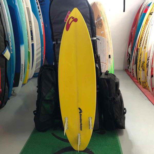 Tabla de surfkite Amundson Custom vista trasera entera