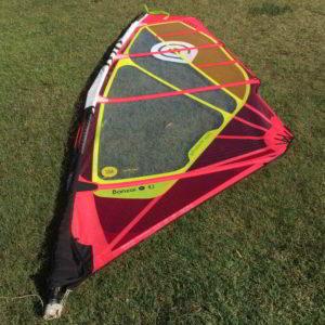 Vela windsurf goya banzai 4.7 vista completa