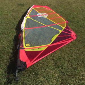 Vela windsurf goya banzai 6.3 vista completa