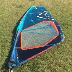 Vela windsurf severne blade 5.5 vista completa