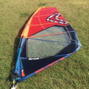 Vela windsurf severne blade 5.7 vista completa