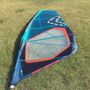 Vela windsurf severne blade 6.2 vista completa