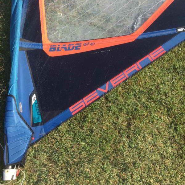 Vela windsurf severne blade 6.2 vista inferior