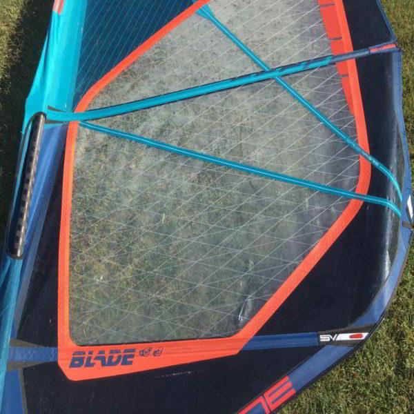 Vela windsurf severne blade 6.2 vista medial