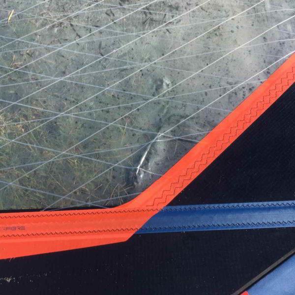 Vela windsurf severne blade 6.2 vista golpe