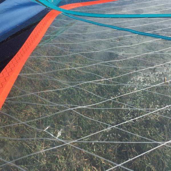 Vela windsurf severne blade 6.2 vista golpe 2