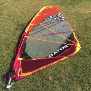 Vela windsurf Severne Gator 6.0 vista completa