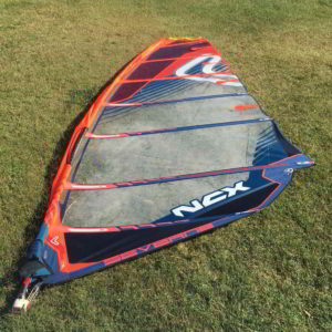 Vela windsurf Severne NCX 7.0 vista completa
