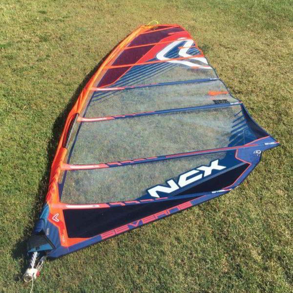 Vela windsurf Severne NCX 7.5 vista completa