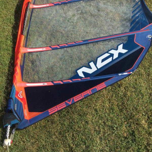 Vela windsurf Severne NCX 7.5 vista inferior