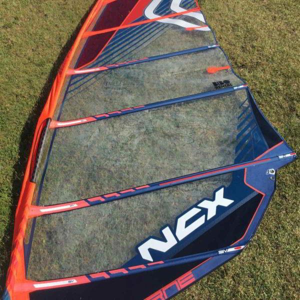 Vela windsurf Severne NCX 7.5 vista medial
