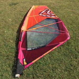 Vela windsurf Severne S-1 4.8 vista completa