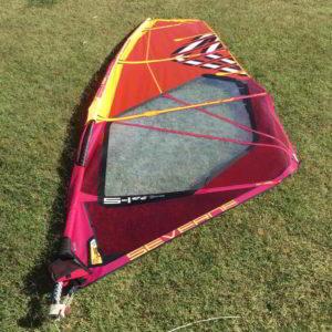 Vela windsurf Severne S-1 5.2 vista completa