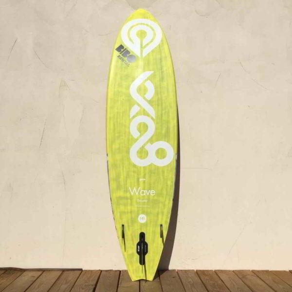 Tabla de windsurf Goya Custom 75L vista trasera