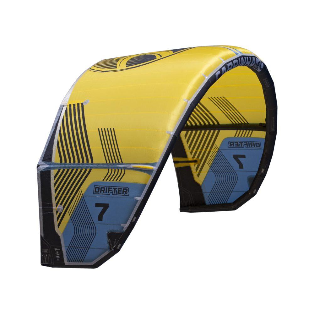 Cometa Kitesurf Cabrinha Drifter color amarillo