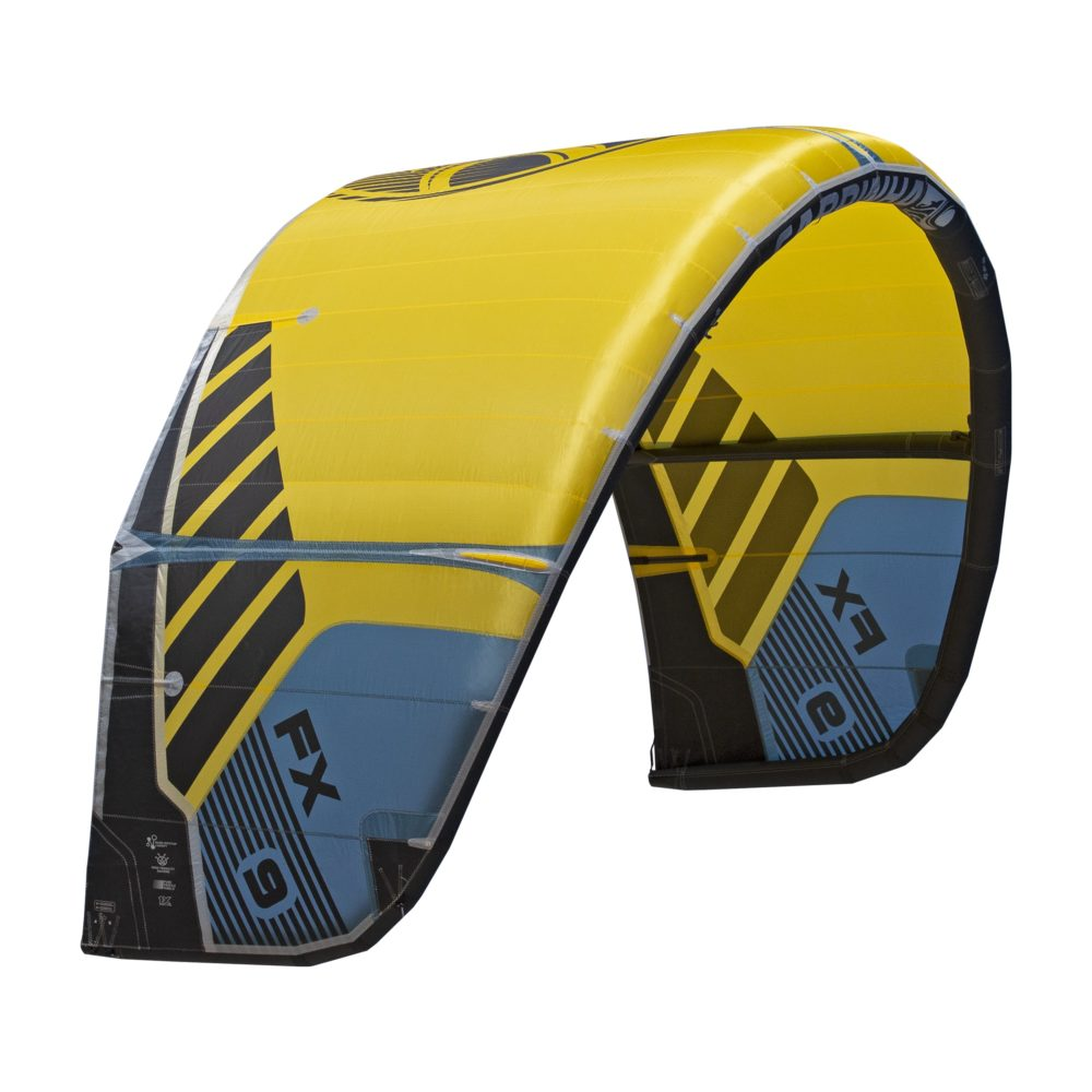 Cometa Kitesurf Cabrinha FX color amarillo