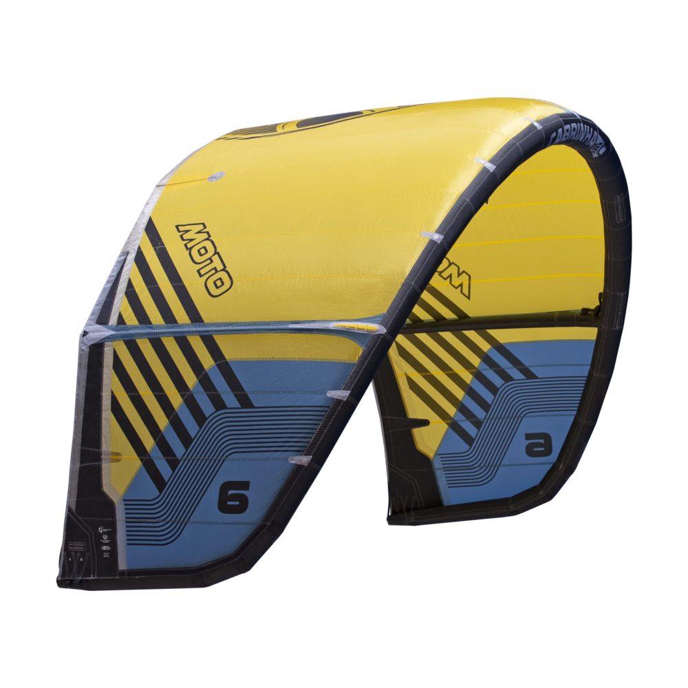 Cometa Kitesurf Cabrinha Moto color amarillo