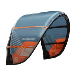 Cometa Kitesurf Cabrinha Switchblade color azul