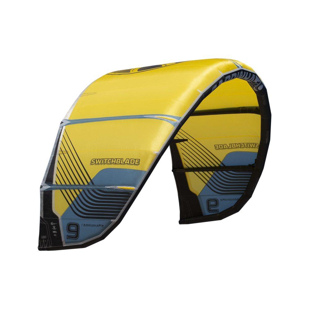Cometa Kitesurf Cabrinha Switchblade color amarillo