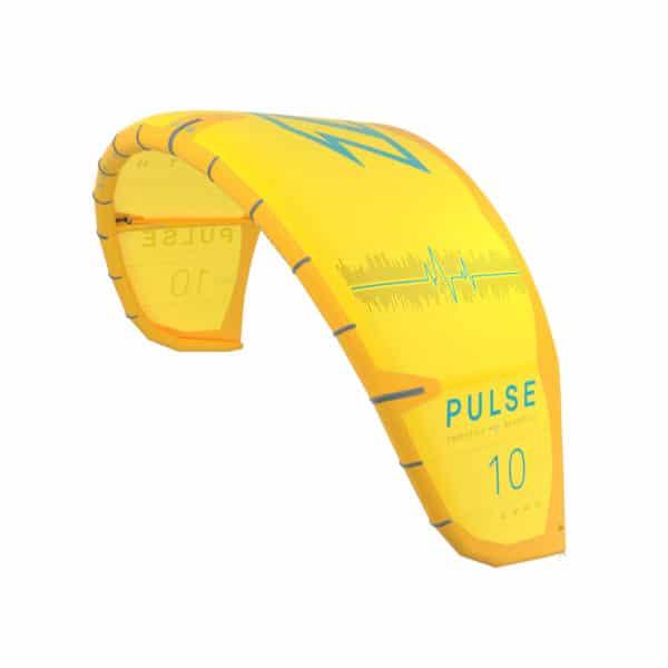 Cometa Kitesurf North Pulse en amarillo