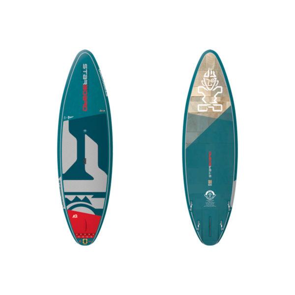 Tabla de SUP Starboard PRO 2020 blue carbon Vista frontal/trasera