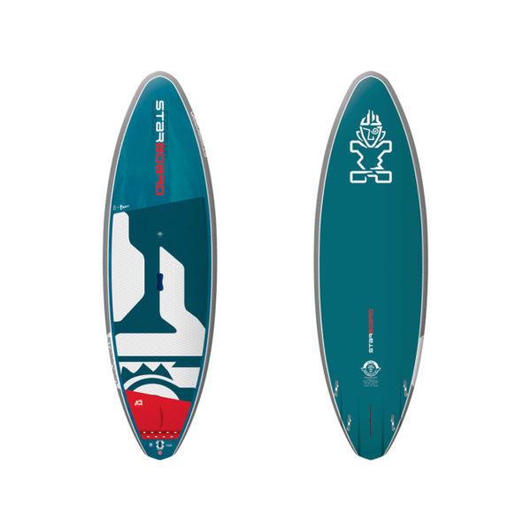 Tabla de SUP Starboard PRO 2020 starlite Vista frontal/trasera