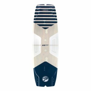 Tabla Kitesurf Cabrinha Ace Wood vista frontal