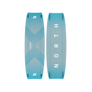 Tabla Kitesurf North Focus vista ambos partes