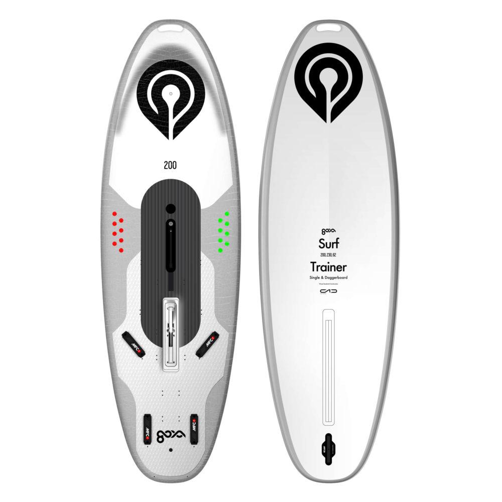 Goya Surf 200 Trainer visión delantera y trasera