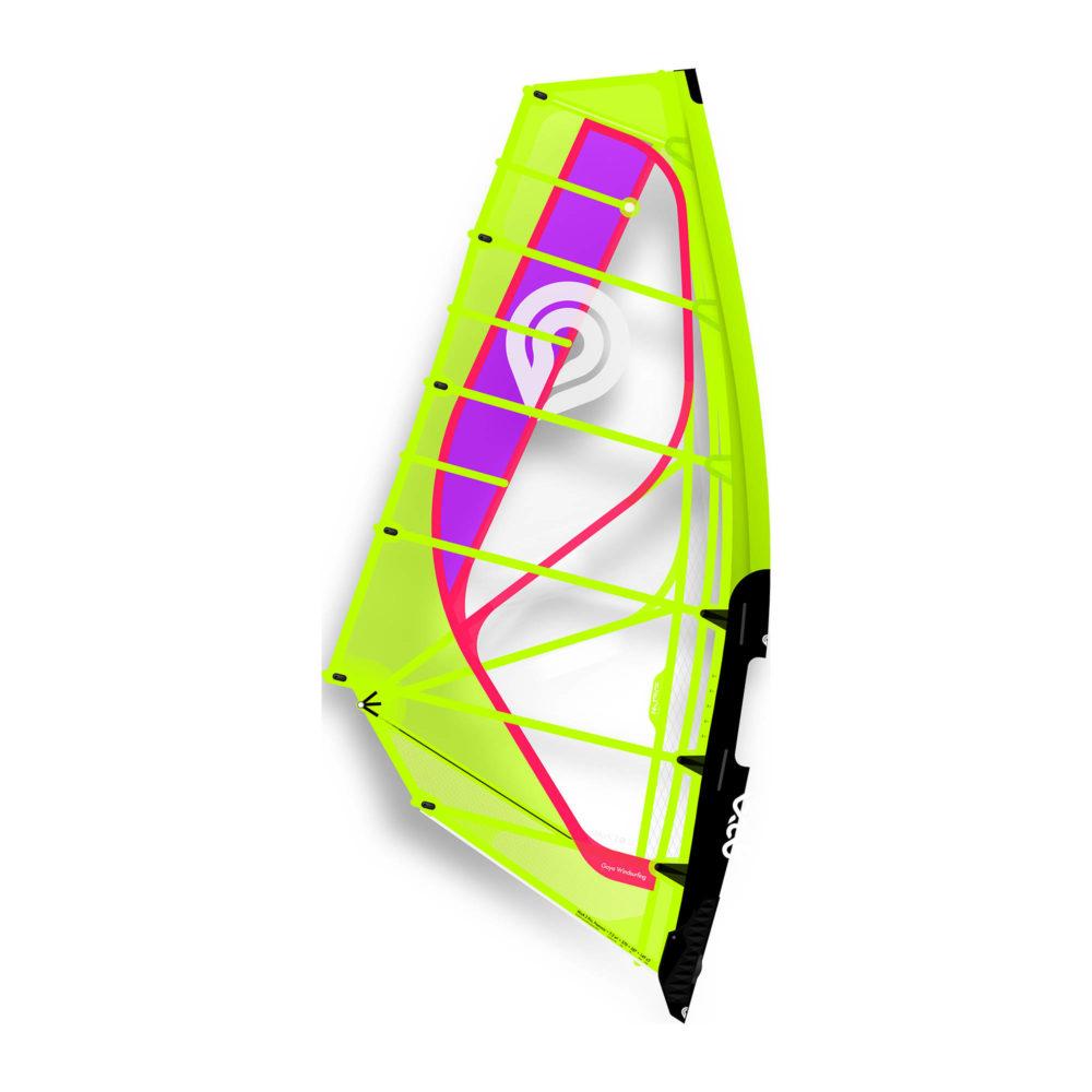 Vela de windsurf Goya Mark 2 Pro 2020 color Yellow